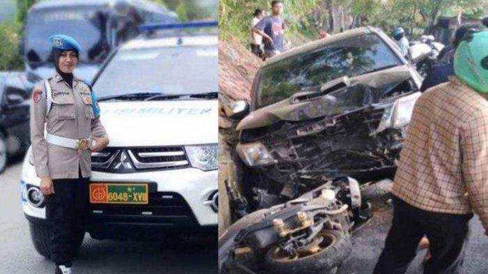 Kecelakaan Maut Tadi Pagi, Polwan Tewas Ditabrak Mobil, Dikendarai Wakil Bupati yang Sedang Mabuk