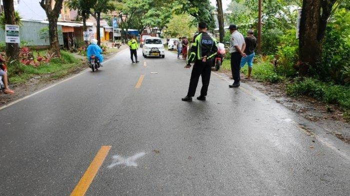 Kecelakaan Maut Senin (17/5/21), Motor vs Mobil di Rantepao, Tana Toraja.