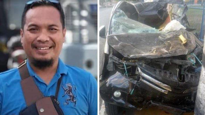 Kecelakaan Maut Tadi Pukul 03.05 WITA, Anggota Polisi Tewas Usai Mobil yang Dikendarai Tabrak Truk