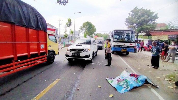 Kecelakaan Maut Pukul 13.00 WIB, Siswa SMK Tewas Ditabrak Bus dari Belakang hingga Jatuh Terlindas