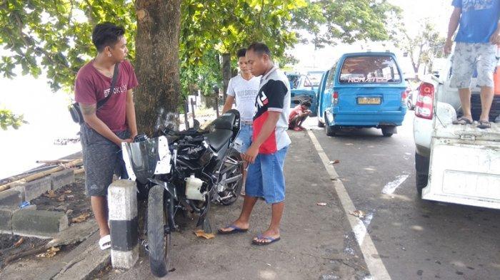 Kronologis Kecelakaan Maut Tunggal di Malalayang Manado, Pengendara Kawasaki Ninja RR Tewas