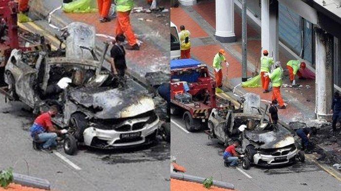 Kecelakaan maut yang menewaskan lima orang, terjadi di Singapura.