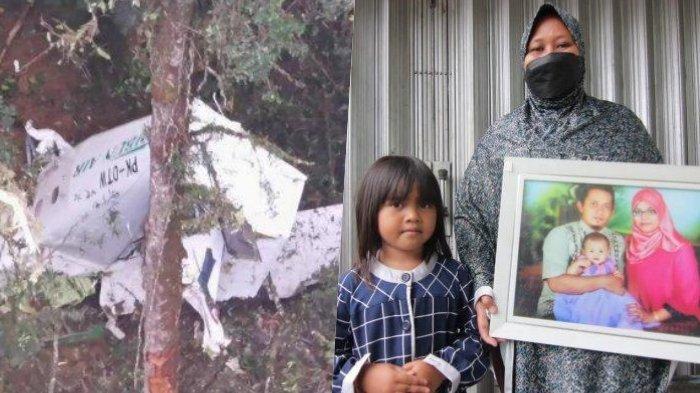 Istri Korban Pesawat Jatuh di Papua Syok, Ngaku Masih Tak Menyangka, Percakapan Terakhir Terungkap