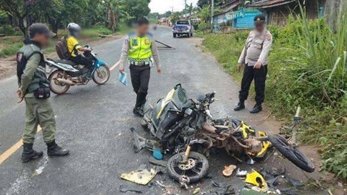 Kecelakaan Tragis Tabrak Lari, Korban Terkapar di Jalan, Satu Bagian Tubuhnya Hilang di TKP