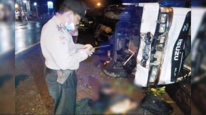 Kecelakaan Maut, Ahmad Ardiansyah Tertabrak Truk, Korban Kurang Hati-hati, Sopir Pasrah