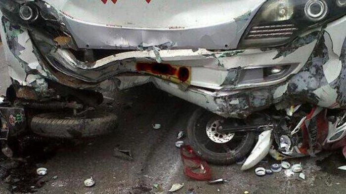 Kecelakaan Maut, Pengendara Motor Vixion Tewas, Saksi: Korban Ngebut Terlalu Kanan Lalu Tabrak Pikap