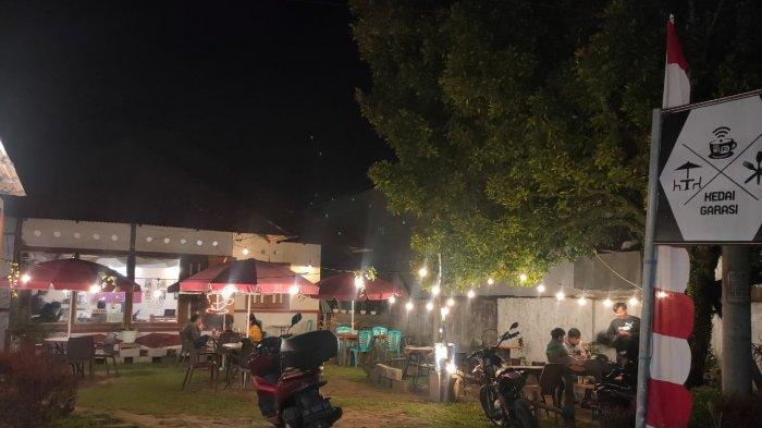 Kedai Garasi Tempat Nongkrong Kekinian Anak Milenial di Langowan Minahasa
