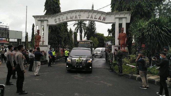 Polda Sulut Kerahkan 300 Personel Kawal Kedatangan Jenazah Sinyo Harry Sarundajang