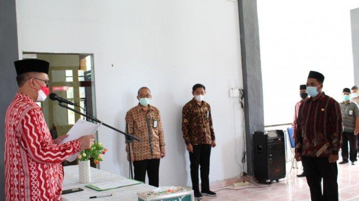 Buyung Silvan Age Resmi Pimpin Kantor Urusan Agama Dumoga Timur Bolmong