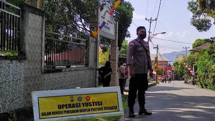 Puluhan Pelanggar Terjaring Operasi Yustisi Polsek Siau Timur Kabupaten Sitaro