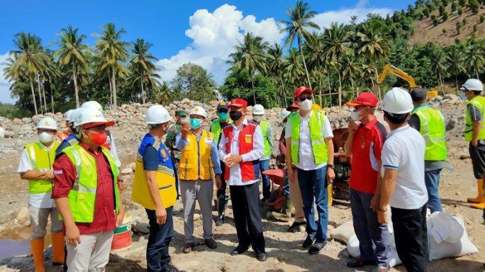 Usai Letakkan Batu Pertama, Herson Mayulu Soroti Pertambangan Ilegal di Desa Milangodaa Bolsel