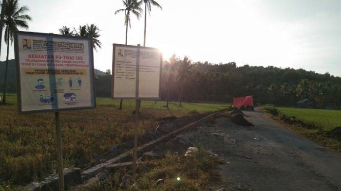 Pembangunan Proyek P3-TGAI di Desa Tolondadu Tuntas Sebelum Deadline