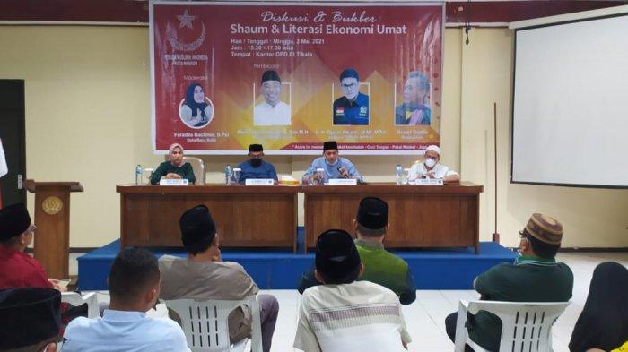 Diskusi & Buka Puasa Pemuda Muslimin Indonesia, Djafar Alkatiri:Rasulullah Adalah Bapak Ekonomi Umat