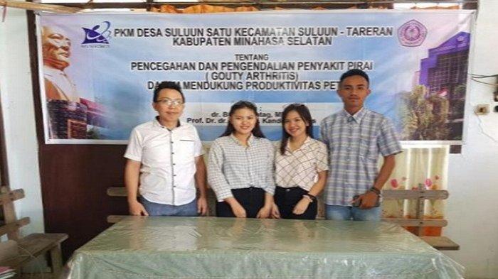 Kegiatan PKM Kecamatan Suluun-Tareran Cegah Dan Kendalikan Penyakit Pirai (Supi) Pada Petani