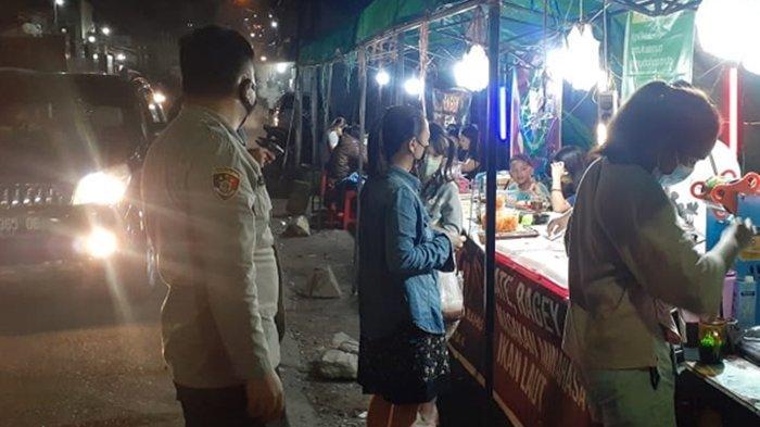 Tertibkan Situasi Malam Minggu di Kota Manado, Jajaran Polda Sulut Dapati Puluhan Pelanggar Prokes
