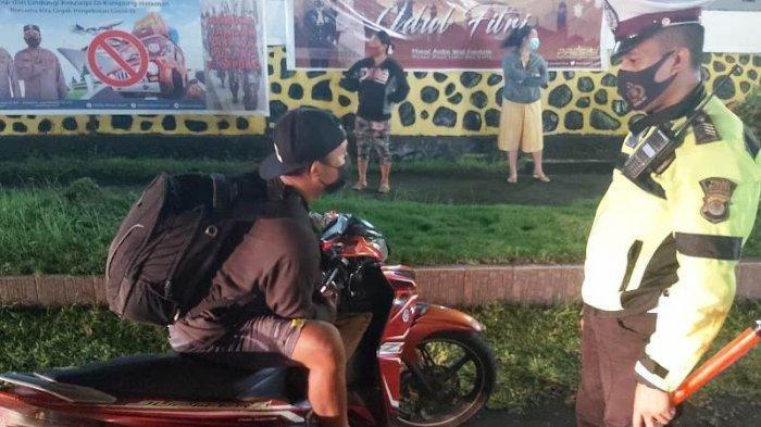Di Kota Bitung, 26 Pemotor Kedapatan Tidak Pakai Helm