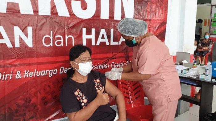 Vaksinasi Dosis Satu di Kabupaten Sitaro Kembali Dibuka