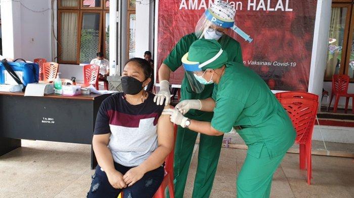 Vaksinasi Covid-19 Bagi Guru dan Tenaga Pendidik di Sitaro Mulai Berproses