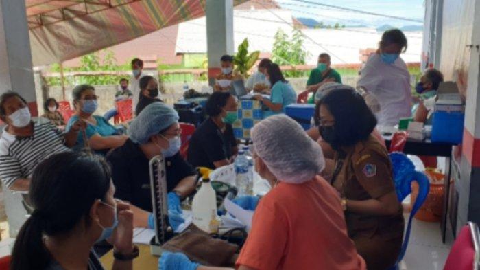 Program Vaksinasi Covid-19 di Kabupaten Sitaro Capai 35,04 Persen