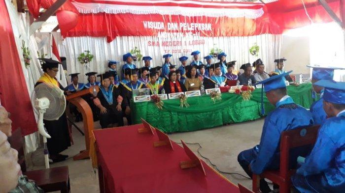 SMA N.1 Lobbo Sukses Gelar Wisuda dan Pelepasan Siswanya dengan Hikmat, Kepsek: Mereka Telah Berjasa