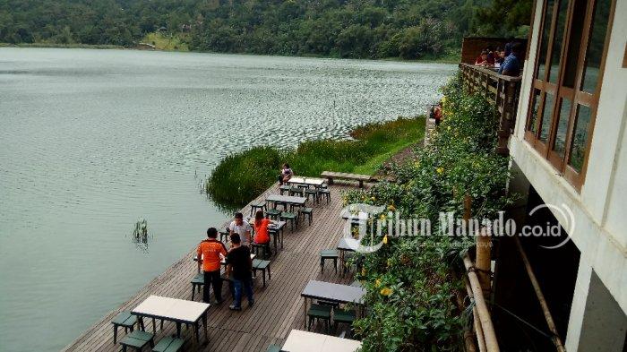 Keindahan alam Danau Linow Tomohon, Sulawesi Utara (Sulut).