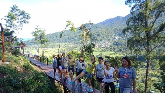 Keindahan Objek Wisata Alam Welu, Miliki Latar Belakang Gunung Lokon