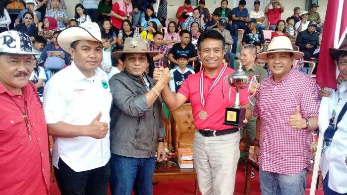 Sarat Kejutan, Kuda Kapolda Sulut dan Bupati Boltim Juarai Kejuaraan Minahasa Cup 2018