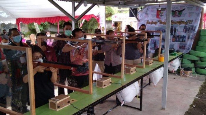 Kejuaraan Menembak Sukses Digelar, Wali Kota Caroll Senduk Berikan Apresiasi Perbakin Tomohon