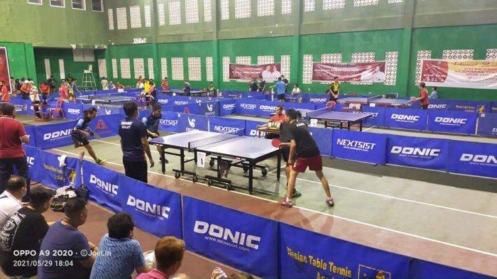Kejuaraan Tenis Meja ODSK 2021 Berhadiah Rp 51,5 Juta Sukses Digelar