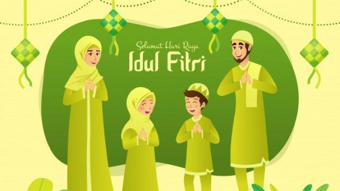 40 Ucapan Selamat Hari Raya Idul Fitri atau Lebaran 2021, 'Mohon Maaf Lahir dan Batin'