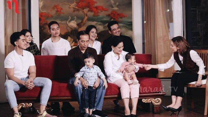 Nama Anak-anak Presiden Jokowi Ternyata Punya Makna, Sang Pemimpin, Berani dan Dirahasiakan