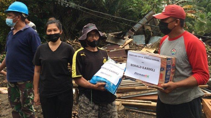 Bantu Warga Terdampak Banjir di Mitra, Ronald Kandoli: Ini Wujud Tanggung Jawab Kemanusiaan
