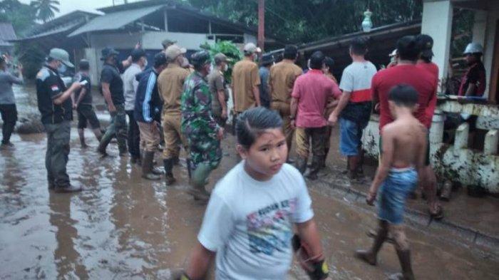 Satuan Kodim 1302/Minahasa Arahkan Jajaran Tangani Dampak Banjir Bandang Mitra