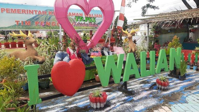 Semangat Kemerdekaan, Jalanan di Kelurahan Walian Tomohon Selatan Dihiasi Nuansa Merah Putih