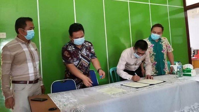 Majukan Pendidikan di Bolmong, Kemenag Bolmong dan IAKN Manado Jalin Kerjasama