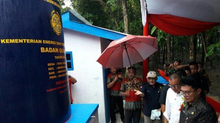 Kementerian ESDM Minta Pesan Masyarakat Jaga Tateli Weru Rawat Sumur Bor