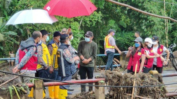 Disemprot Bupati Mitra James Sumendap, Kementerian PUPR Segera Rehab Jembatan Abuang