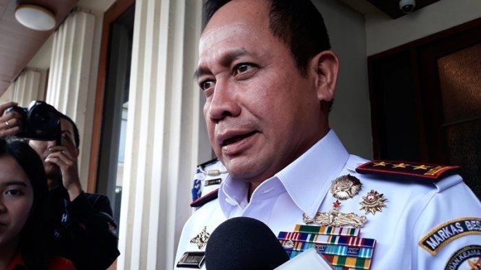 Kepala Bakamla Bertemu Mahfud MD, Bahas Omnibus Law Kelautan