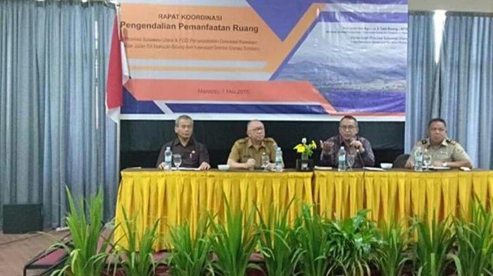 Rapat koordinasi pengendalian pemanfaatan ruang di Provinsi Sulut