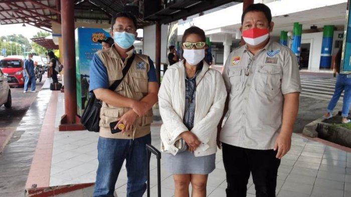 BP2MI Manado Fasilitasi Kepulangan PMI Bermasalah Asal Tomohon dari Batam, Tergoda Rayuan Calo di FB
