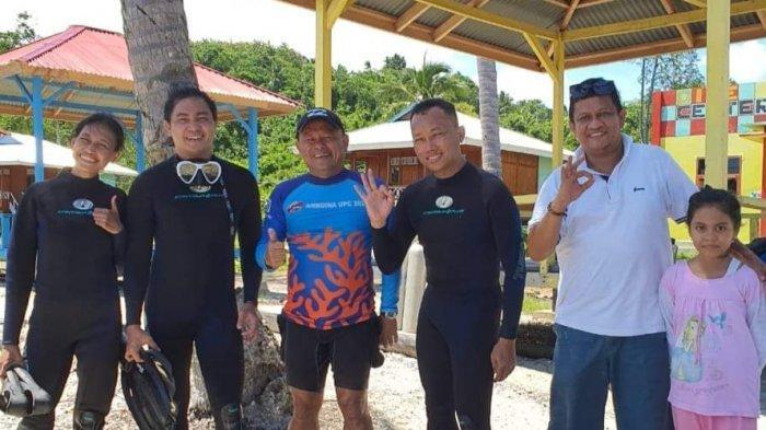 Diving di Mahena Point, Kepala BPKP Sulut Kagumi Keindahan Bawah Laut Bolsel