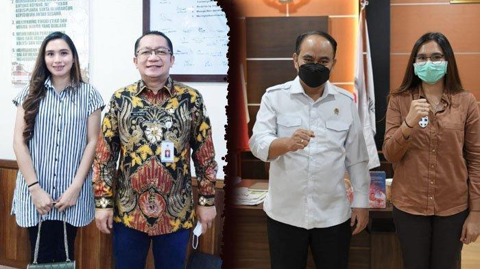 Agenda Kerja Kepala Desa Bombanon Gita Tuuk di Jakarta, Audiensi di Kementerian Desa PDTT