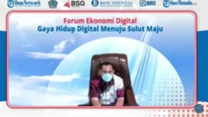 Sedang Berlangsung Live Streaming Forum Ekonomi Digital: Gaya Hidup Digital Menuju Sulut Maju
