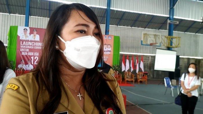 Pantau Vaksinasi Anak di Bolmong, Kartika Devi Thanos Janji All Out Tentang Pemberdayaan Perempuan