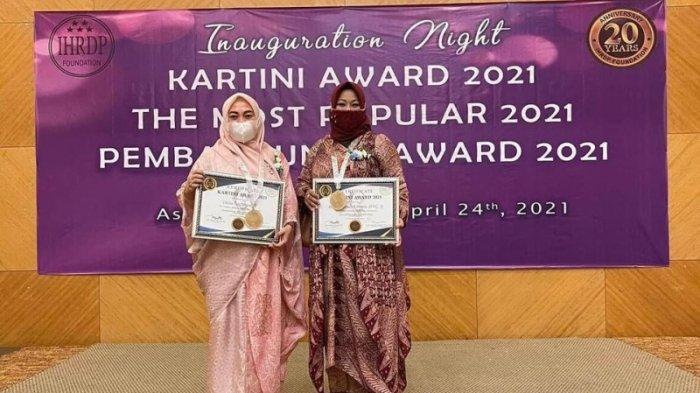 'Kartini' Kotamobagu Terima Penghargaan Pembangunan Award 2021