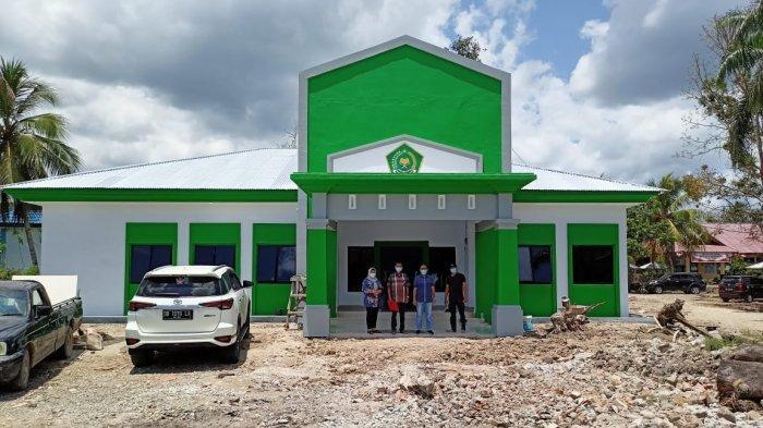 Pembangunan Gedung Balai Nikah Lolayan Bolmong Tepat Waktu, Shabri Makmur Bora Apresiasi Kontraktor