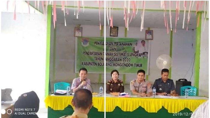 BPN Targetkan 2.500 Settifikat Untuk Kabupaten Boltim, Difokuskan Pada Dua Wilayah
