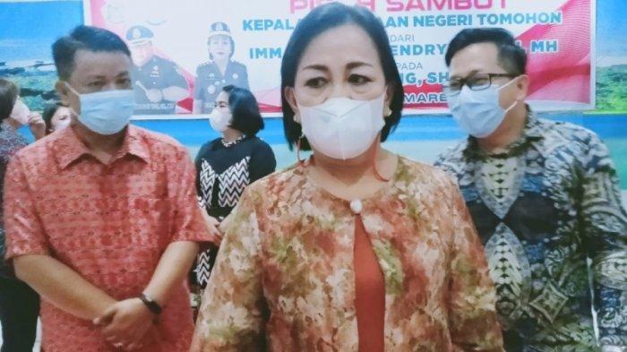 Komitmen Berantas Korupsi, Kajari Tomohon Fien Ering: Siapapun Dia Kalau Ada Indikasi Ditindak