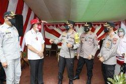 Bupati Royke Roring Dampingi Kakorlantas Polri Kunjungi Minahasa