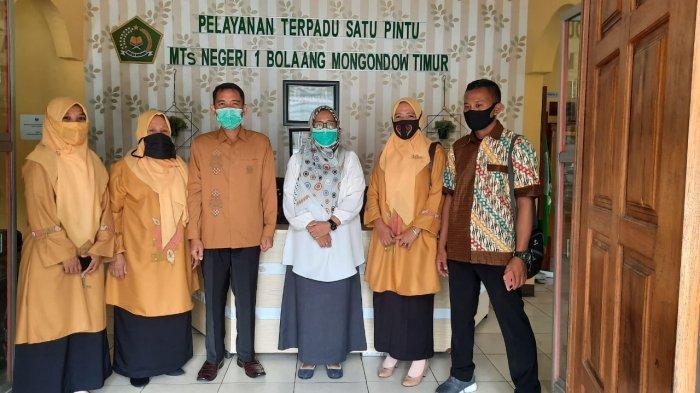 Kepala MTs Negeri 1 Boltim Terima Kunjungan MIN 2 Kabupaten Gorontalo